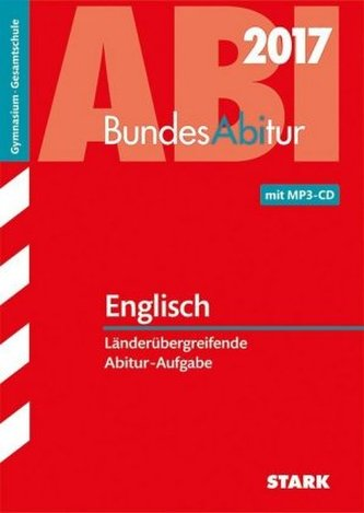 Bundesabitur 2017 - Englisch, m. MP3-CD