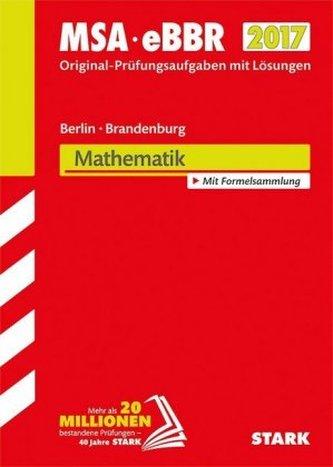 Mittlerer Schulabschluss 2017 - Berlin/Brandenburg - Mathematik