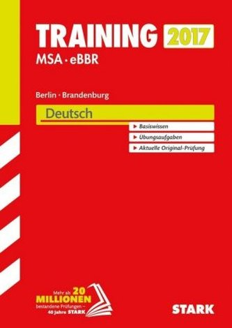 Training MSA - eBBR 2017 Berlin / Brandenburg - Deutsch
