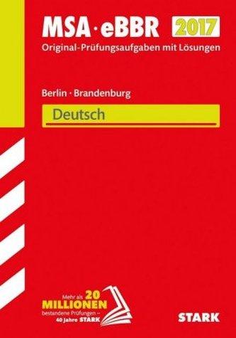 Mittlerer Schulabschluss 2017 - Berlin/Brandenburg - Deutsch