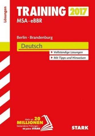 Training MSA - eBBR 2017 Berlin / Brandenburg - Deutsch Lösungen