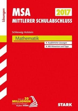 Mittlerer Schulabschluss 2017 - Schleswig-Holstein - Mathematik Lösungen