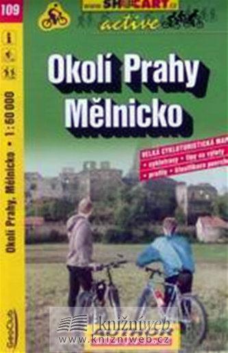 Okolí Prahy Mělnicko 1:60 000