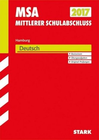 Mittlerer Schulabschluss 2017 - Hamburg - Deutsch