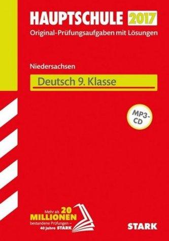 Hauptschule 2017 - Niedersachsen - Deutsch 9. Klasse, m. MP3-CD