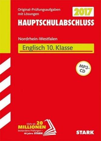 Zentrale Prüfung 2017 - Hauptschulabschluss Hauptschule Typ A · Gesamtschule GK Nordrhein-Westfalen - Englisch 10. Klasse, m. MP