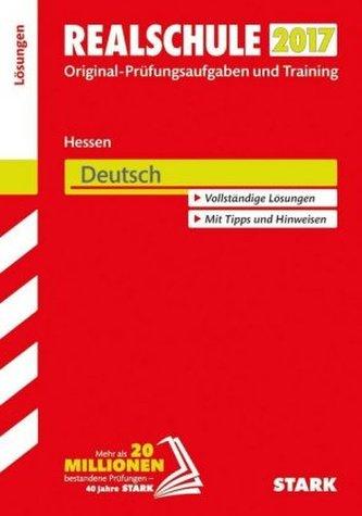 Realschule 2017 - Hessen - Deutsch Lösungen