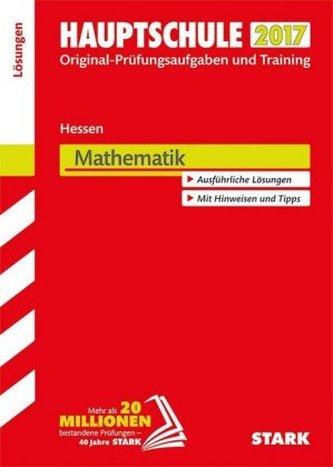 Hauptschule 2017 - Hessen - Mathematik Lösungen