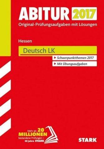 Abitur 2017 - Hessen - Deutsch LK