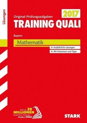 Training Quali Bayern 2017 - Mathematik Lösungsheft