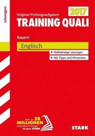Training Quali Bayern 2017 - Englisch Lösungen