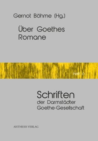 Über Goethes Romane