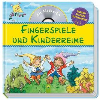 Fingerspiele und Kinderreime, m. Audio-CD