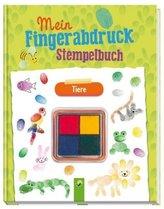 Mein Fingerabdruck-Stempelbuch Tiere