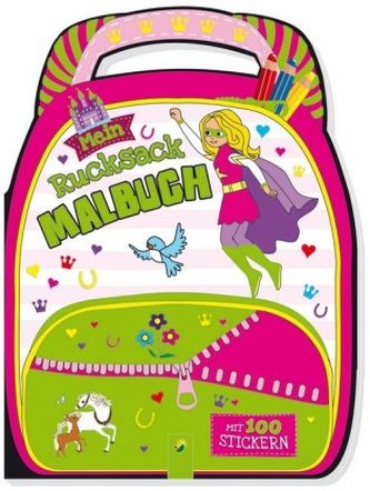 Mein Rucksack-Malbuch