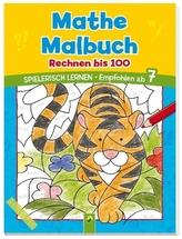 Mathe Malbuch - Rechnen bis 100