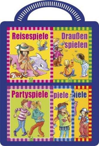 Kinderspiele - 5 Minibücher mit tollen Spielen