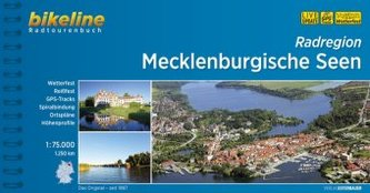 Bikeline Radtourenbuch Radregion Mecklenburgische Seen