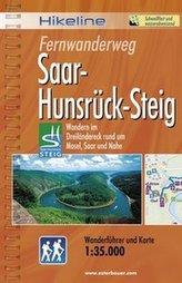 Hikeline Wanderführer Fernwanderweg Saar-Hunsrück-Steig