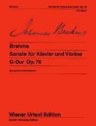 Sonate op. 78 für Klavier und Violine. G-Dur op. 78