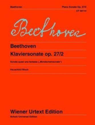 Sonate cis-Moll ('Mondscheinsonate'), Klavier - Beethoven, Ludwig van