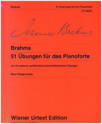51 Übungen für das Pianoforte WoO 6, Klavier
