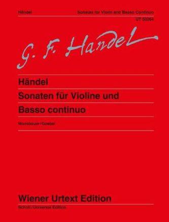 Sonaten für Violine und Basso continuo/Klavier, Partitur u. Einzelstimme