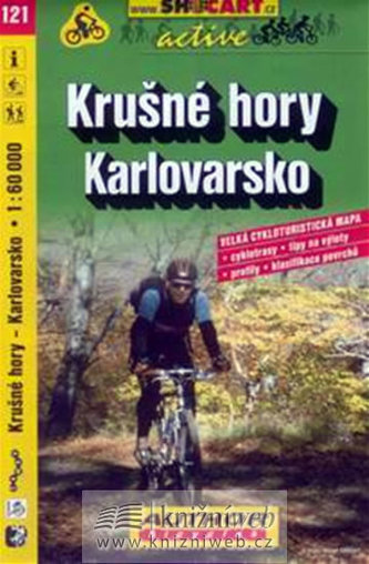 Krušné hory Karlovarsko 1:60 000