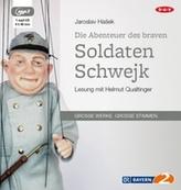 Die Abenteuer des braven Soldaten Schwejk, 1 MP3-CD
