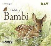 Bambi, 1 Audio-CD