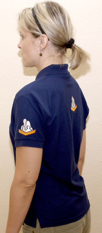 RK tričko modré dámské M