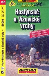 Hostýnskké a Vizovické vrchy 1:60 000