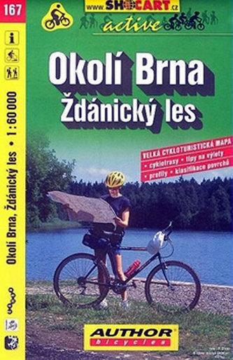 Okolí Brna Ždánický les 1:60 000