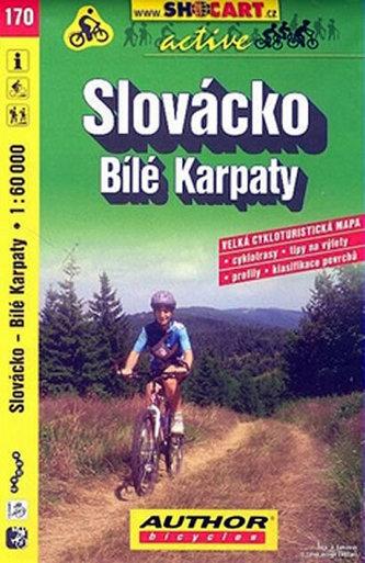 Slovácko Bílé Karpaty 1:60 000