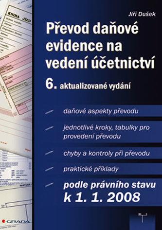 Převod daňové evidence na vedení účetnictví