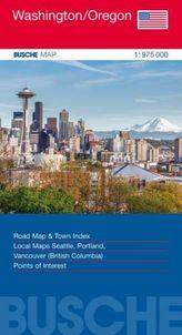 Busche Map USA Washington/Oregon