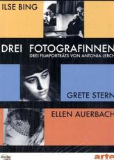 Drei Fotografinnen: Ilse Bing, Grete Stern, Ellen Auerbach, 1 DVD