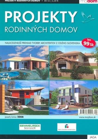 Projekty rodinných domov jeseň/zima 2008