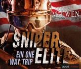 Sniper Elite - Ein One Way Trip, 8 Audio-CDs
