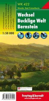 Freytag & Berndt Wander-, Rad- und Freizeitkarte Wechsel, Bucklige Welt, Bernstein
