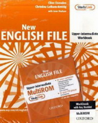 New English File Upper Intermediate Workbook with MultiRom Pack - Latham-Koenig, Christina