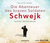 Die Abenteuer des braven Soldaten Schwejk, 8 Audio-CDs