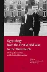 Egyptology from the First World War to the Third Reich