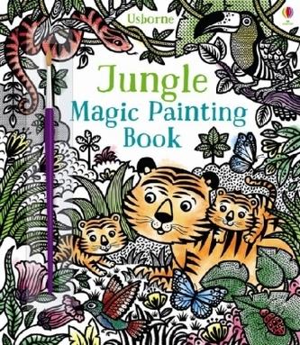 Jungle Magic Painting Book - Taplin, Sam