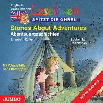 Stories About Adventures. Abenteuergeschichten, 1 Audio-CD, engl. Version, 1 Audio-CD