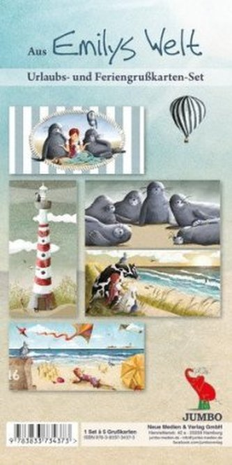 Aus Emilys Welt, Urlaubs- und Feriengrußkarten-Set