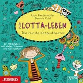 Mein Lotta-Leben - Das reinste Katzentheater, 1 Audio-CD