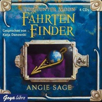 TodHunter Moon - FährtenFinder, 4 Audio-CDs