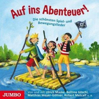 Auf ins Abenteuer!, Audio-CD