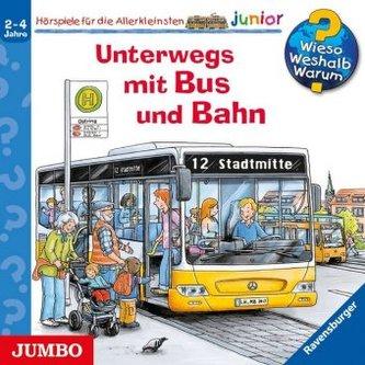 Unterwegs mit Bus und Bahn, 1 Audio-CD